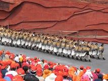 A minoria de Yunnan equipa Imagem de Stock Royalty Free