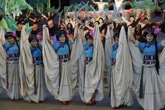 A minoria mostra, China foto de stock royalty free