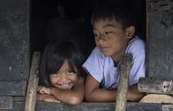 Minorité ethnique d'Ifugao aux Philippines image stock