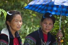 Minorité ethnique noire de H'mong images libres de droits