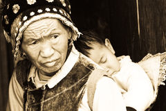 Minorité, Yunnan Photos libres de droits