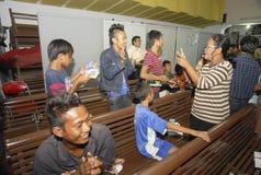 MINORITÉS RELIGIEUSES DE L'INDONÉSIE Photographie stock