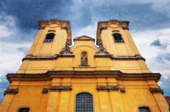 Minorite church of Eger, Hungary Royalty Free Stock Photography