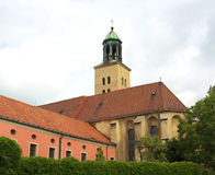Minorite Monastery and Church of the Holy Spirit, Opava Stock Photo