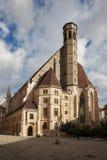 Minoritenkirche在维也纳 库存照片