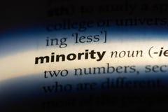 minoritet royaltyfri fotografi