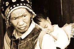 minoritet yunnan royaltyfria foton