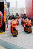 Minoritetflickor, IFICH Kina 2013 Royaltyfria Foton