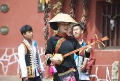 Minority Chinese Performance Stock Photos