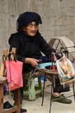 Minority Chinese village woman Royalty Free Stock Photos