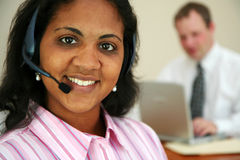 Minority Customer Service Royalty Free Stock Photos