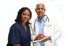 Minority Doctor Stock Image