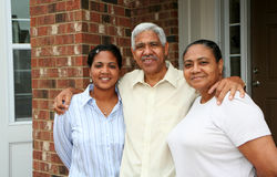 Minority Family Royalty Free Stock Photos