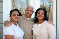 Minority Family Royalty Free Stock Photography