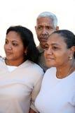 Minority Family Stock Photo