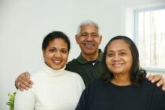 Minority Family Royalty Free Stock Photos