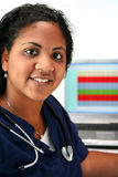 Minority Nurse Stock Photography