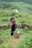 Minority Vietnamese woman Stock Photos