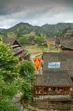 Minority village in China Stock Photography