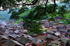 Minority village,china Royalty Free Stock Photos