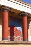 minotaur сказания knossos стоковая фотография rf