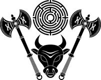 Minotaur Royalty Free Stock Photography