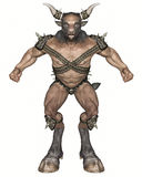 Minotaur Royalty Free Stock Photo