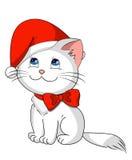 Minou de Noël illustration stock