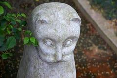 Minou en pierre Photos stock