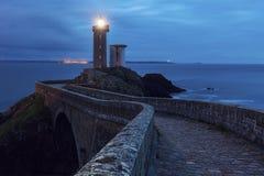 Minou Lighthouse pequena Foto de archivo