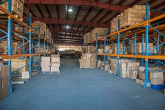 Minsheng Logistics, Chongqing, Hebei Branch Auto Parts Warehouse Stock Image