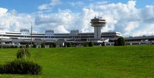 Minsk - aeroporto nacional fotos de stock