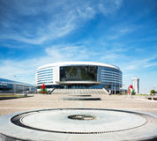 Minsk Arena in Belarus. Ice Hockey Stadium. Royalty Free Stock Images