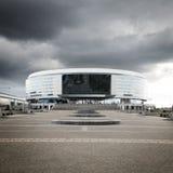 Minsk Arena in Belarus. Ice Hockey Stadium. Stock Photos