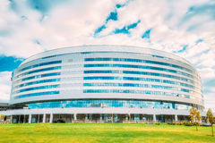 Minsk Arena In Belarus. Ice Hockey Stadium. Venue For 2014 World Stock Photo