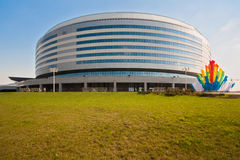 The Minsk-Arena hockey complex, Belarus Stock Images
