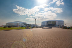 The Minsk-Arena hockey complex, Belarus Royalty Free Stock Photography
