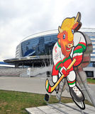 Minsk arena, IIHF-2014, Belarus Stock Photography