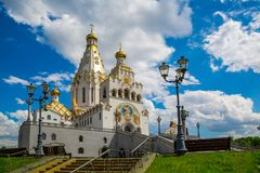 Minsk, arquitectura foto de archivo