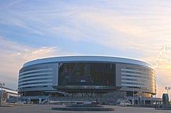 Minsk, Bealarus - April, 26: Minsk-arena Ijshockeysport Comple Royalty-vrije Stock Foto's