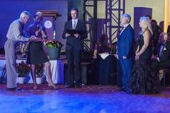 """Minsk, Belarus†""""September 26,2015: John Gusenhoffer und Irina Lob Stockbild"""