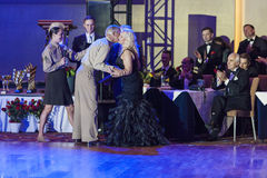 "Minsk, Belarus†""September 26,2015: John Gusenhoffer und Irina Lob Stockfotografie"