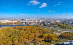 Minsk, Belarus stockfotos