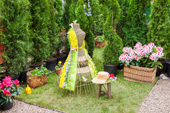 Minsk, Belarus, 23-May-2015: Fragment Of Garden Composition. Stock Photos