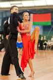 MINSK-BELARUS, 4:Adult Dance Couple Royalty Free Stock Images