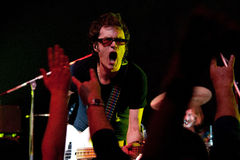 MINSK, BELARUS - APRIL 05: Glenn Hughes, live concert Royalty Free Stock Photo