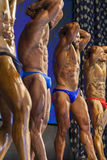 Minsk-Belarus, April, 26: Professional Bodybuilders Performing o Stock Photo