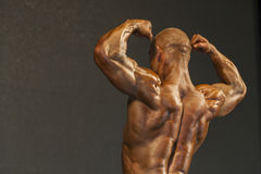 Minsk-Belarus, April, 26: Professional Male Caucasian Bodybuilde Stock Photography
