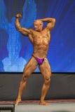 Minsk-Belarus, April, 26: Professional Male Caucasian Bodybuilde Royalty Free Stock Image