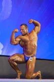 Minsk-Belarus, April, 26: Professional Male Caucasian Bodybuilde Royalty Free Stock Photo